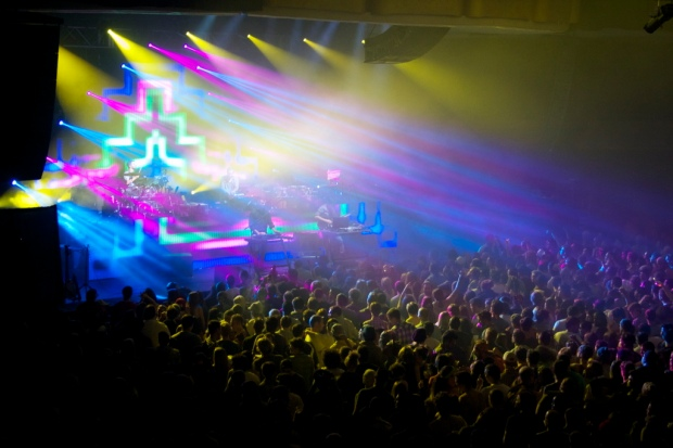 STS9, Hollywood Palladium: March 2013