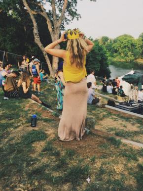 Nikki at Euphoria Mooooosic Festival in ATX